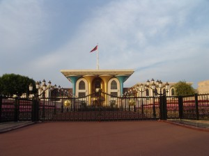 Sultanspalast in Muscat