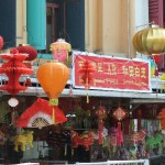 Dekoration in Chinatown