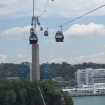 Seilbahn Jewel Cable Car nach Sentosa