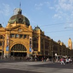 Flinder Street Station in Melbourne