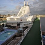 Pooldeck der Silver Whisper