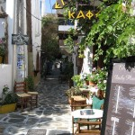Gasse in Amorgos