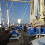 An Deck der Star Clipper