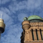 Sydney Tower und Queen Victoria Building