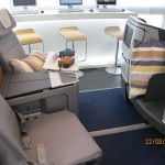 Neue Lufthansa Business Class Testsitze im Trainingscenter