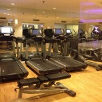 Marriott Hamburg Fitness Bereich