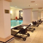 Marriott Hamburg Wellness Bereich