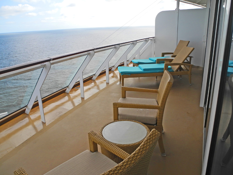 Norwegian Breakaway The Haven Owner´s Suite Balkon