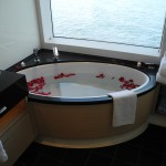 Norwegian Breakaway The Haven Deluxe Owner´s Suite Bad