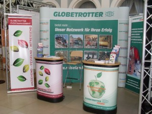Globetrotter Eventmanagement Messestand