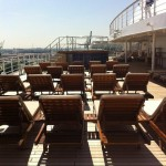 Sonnenedeck der Queen Mary 2