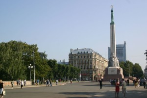 Die Milda in Riga (Nationaldenkmal)