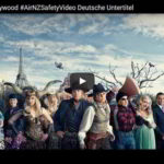Safety in Hollywood #AirNZSafetx Video Deutsche Untertitel